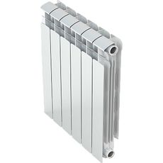 Алюминиевый радиатор Gekon (Гекон) 500 ( 4 секции), фото 1
