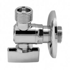 Угловой кран Remer (Ремер) - 261 1/2 x 1/2 MM, фото 1