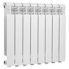 Алюминиевый радиатор Santrade Compact RT01-350A2-( 8 секций), фото 1